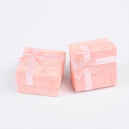 Boîtes à bagues en cartonX-CBOX-G003-08D-1