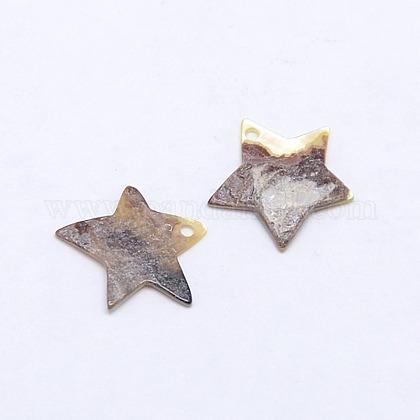Natural Akoya Shell PendantsSSHEL-I009-05A-1
