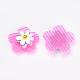Flor de nylon pinzas para el cabello de cinta mágicaOHAR-S193-52-4