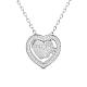 SHEGRACE® 925 Sterling Silver Pendant NecklaceJN636A-1