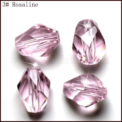 Imitation Austrian Crystal BeadsSWAR-F077-9x6mm-03-1