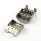 Smooth Surface 201 Stainless Steel Watch Band Clasps STAS-R063-82-4