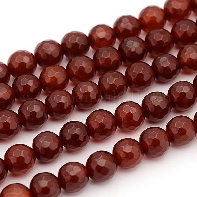 Red Agate Bead Strand Carnelian Chalcedony Faceted Tumbled Medium Large Nuggets 16 Full Bead Strand BeadAddic Attic Etsy