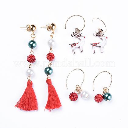 Earrings SetsEJEW-JE03390-1