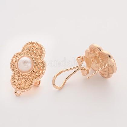 Alloy Stud Earrings FindingsPALLOY-O080-19-1
