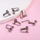 304 Stainless Steel Clip-on Earring SettingsSTAS-Q227-01-5