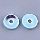 Abalorios de porcelana hechas a manoPORC-S498-54-3
