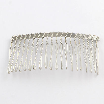 Fornituras de peine de pelo de hierroOHAR-R267-02-1