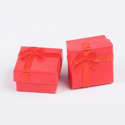 Boîtes à bagues en cartonCBOX-G003-08B-1