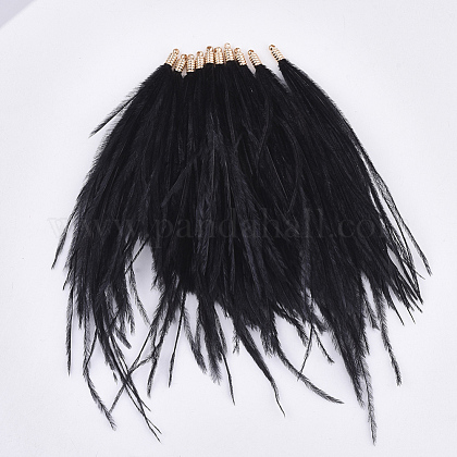 Ostrich Feather Tassel Big Pendant DecorationsFIND-S302-08L-1