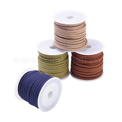 3mm cordón de gamuza sintéticaLW-JP0003-02-1