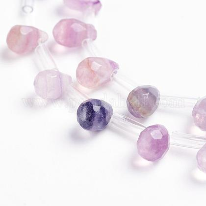 Natural Fluorite Beads StrandsG-J360-10-1