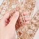 Hilo de soutache de cuerda de cáñamo tejido a mano para decoración.OCOR-WH0031-C01-4