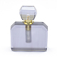 Colgantes de botella de perfume que se pueden abrir de cuarzo sintéticoG-E556-08B-2