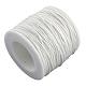 Cordones de hilo de algodón encerado ambientalYC-R008-1.0mm-101-1