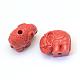 Abalorios de cinabrio elefanteCARL-Q003-27-2