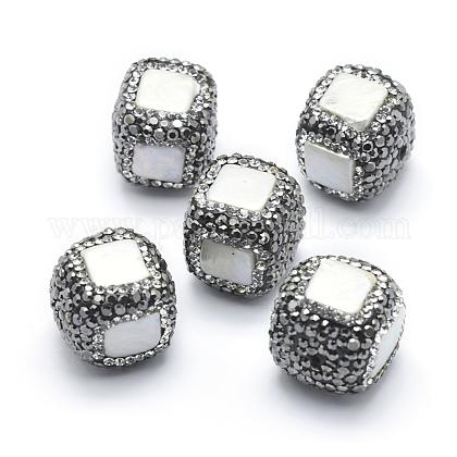 Perlas naturales abalorios de agua dulce cultivadasRB-A062-049-1