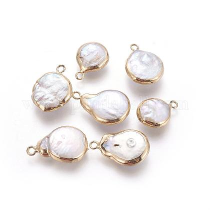 Colgantes naturales de perlas cultivadas de agua dulcePEAR-P059-Q01-1