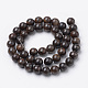 Natural Bronzite Beads Strands G-S272-01-10mm-2