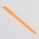 Circular de acero inoxidable agujas de tejer de alambre de acero y plástico de color al azar agujas de tapiceríaTOOL-R042-800x1.75mm-4