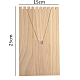 木製ネックレスジュエリーネックレスホルダーBDIS-WH0002-04-3