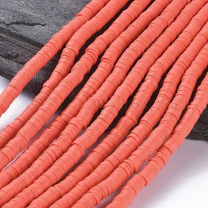 Abalorios de arcilla polimérica hechos a manoCLAY-R067-6.0mm-14-1