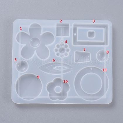 Diy cuelga los accesorios del pendiente moldes de siliconaDIY-D049-15-1