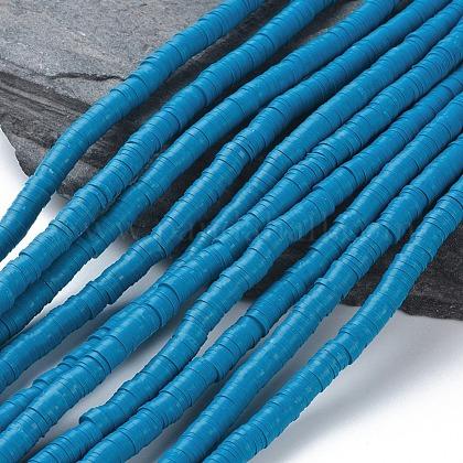 Abalorios de arcilla polimérica hechos a manoCLAY-R067-6.0mm-44-1