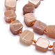 Natural Sunstone Beads StrandsG-K223-58A-3