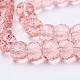 Transparent Glass Beads StrandsEGLA-E045-B02-3