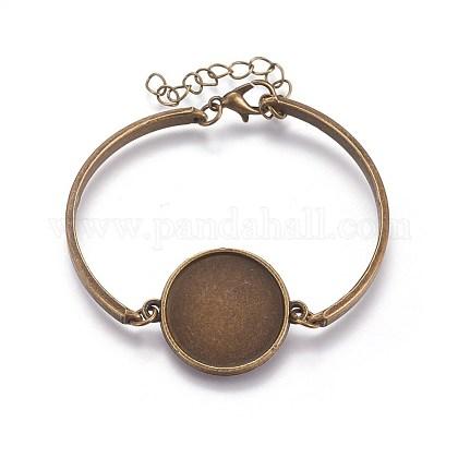 Alloy Bracelet MakingMAK-WH0005-01AB-1