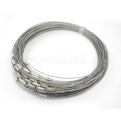 Steel Wire Necklace CordX-TWIR-SW001-5-1
