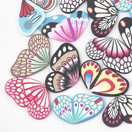 Handmade Polymer Clay CabochonsCLAY-T013-03-1