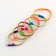 Plastic Zipper BraceletsBJEW-A060-M3-1