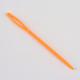 Circular de acero inoxidable agujas de tejer de alambre de acero y plástico de color al azar agujas de tapiceríaTOOL-R042-650x3.5mm-4