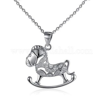 925 collar de plata de ley colganteNJEW-BB30316-1