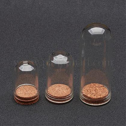 Cubierta de vidrio cloche clocheAJEW-P043-1