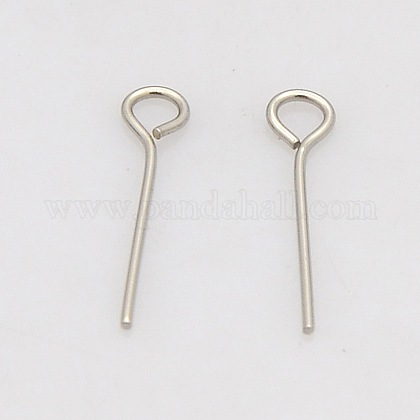 304 Stainless Steel Eye PinSTAS-N017-01-0.6x30mm-1