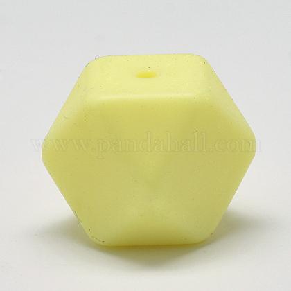 Abalorios de silicona ambiental de grado alimenticioSIL-Q009A-33-1