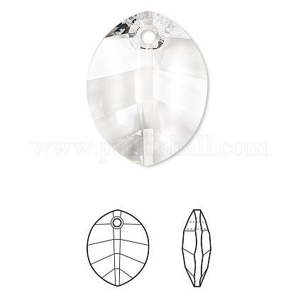 Austrian Crystal Rhinestone Pendant6734-23mm-001(U)-1
