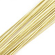Iron Wire, LightKhaki, 22 Gauge, 0.6mm; 60cm/strand; about 50strand/bag