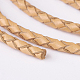 Braided Leather CordsWL-P002-06-A-3