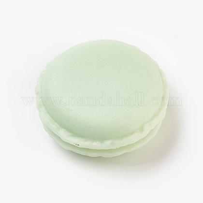 Mallette de transport de bague/collier bijoux de mini macarons mignons de couleur bonbon portableCON-WH0038-A07-1