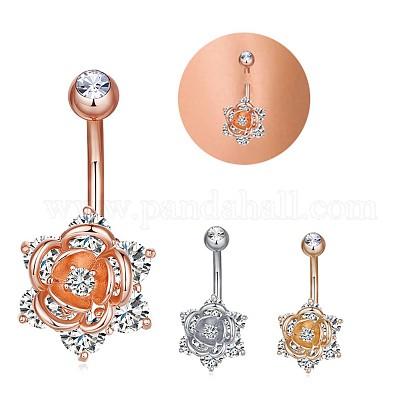 Brass Piercing JewelryAJEW-EE0006-85G-1