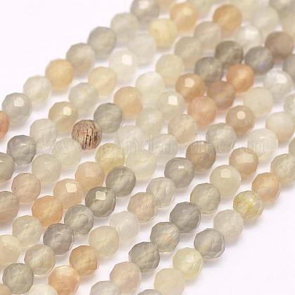 Natural Moonstone Beads StrandsG-F509-06-3mm-1