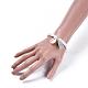 Cotton Thread Tassels Charm BraceletsBJEW-JB04385-7