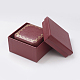Light Cover Paper Jewelry Ring Box OBOX-G012-01A-2