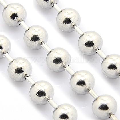 Electroplate cadenas de bolas de acero inoxidableCHS-L001-12mm-P-1
