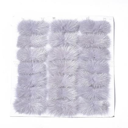 Faux Mink Fur Rectangle DecorationFIND-S320-01A-09-1