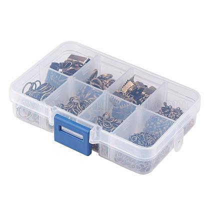 1ボックスアクセサリーパーツ20個入り合金製カニカンFIND-X0001-AB-NF-B-1